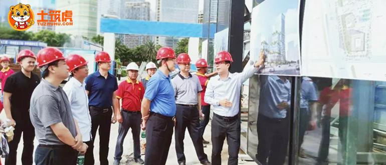 会员企业动态丨稳健基础公司喜迎张家港市冶金工业园代表团考察交流!