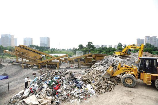峡江新建一座建筑垃圾消纳场