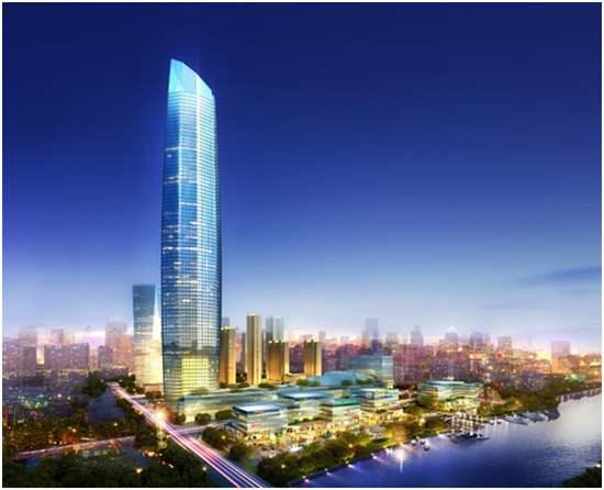 广东深圳由恒大打造新地标大厦,建筑高400米,面积34.3万平方米