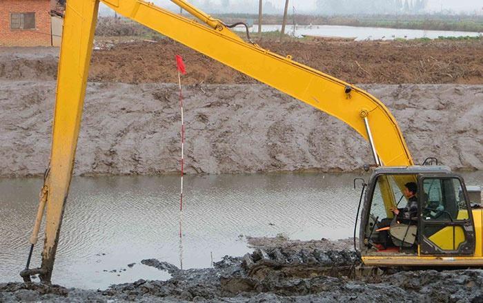 液压反铲挖掘机铲斗结构解析