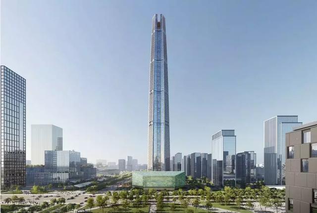 中国西北第一高楼——中国国际丝路中心大厦